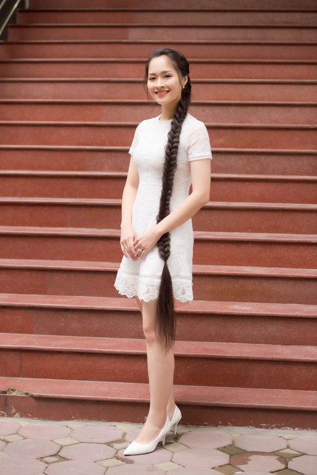 Những cô gái có mái tóc đẹp nhất Hoa hậu Việt Nam qua các mùa ảnh 18