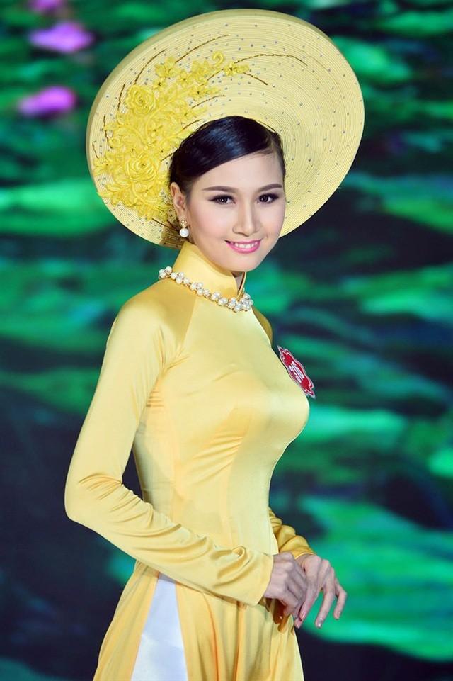 Những cô gái có mái tóc đẹp nhất Hoa hậu Việt Nam qua các mùa ảnh 8