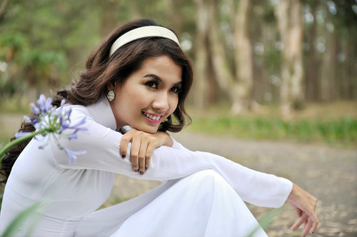 Những cô gái có mái tóc đẹp nhất Hoa hậu Việt Nam qua các mùa ảnh 2