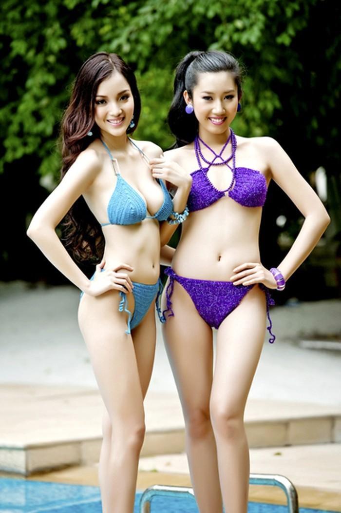 Hai người đẹp giành danh hiệu được yêu thích nhất của Hoa hậu Việt Nam là ai? ảnh 3