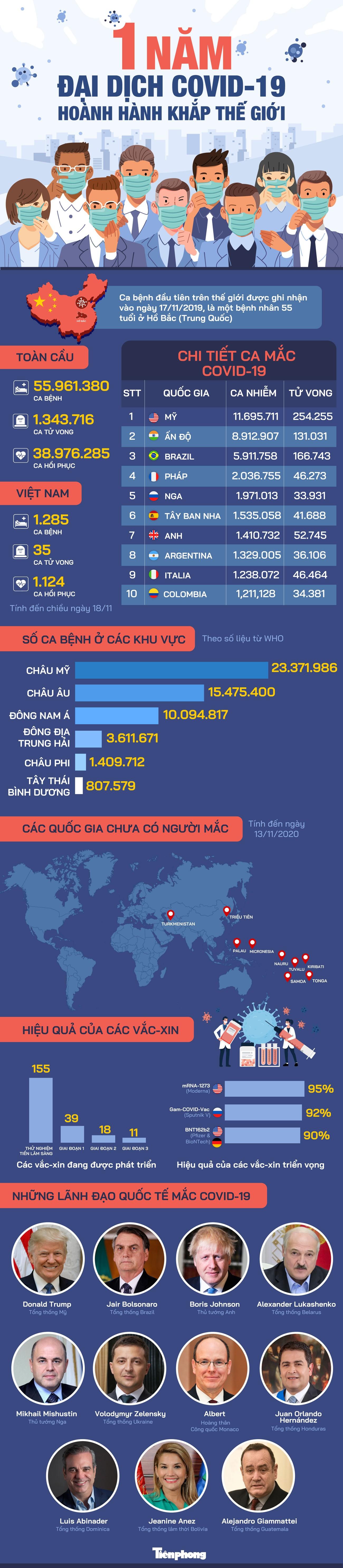 Một năm đại dịch COVID-19 hoành hành khắp thế giới ảnh 1