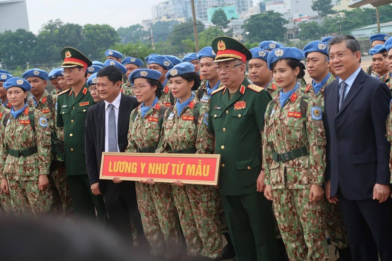 Lực lượng gìn giữ hòa bình Việt Nam xuất quân làm nhiệm vụ quốc tế ảnh 7