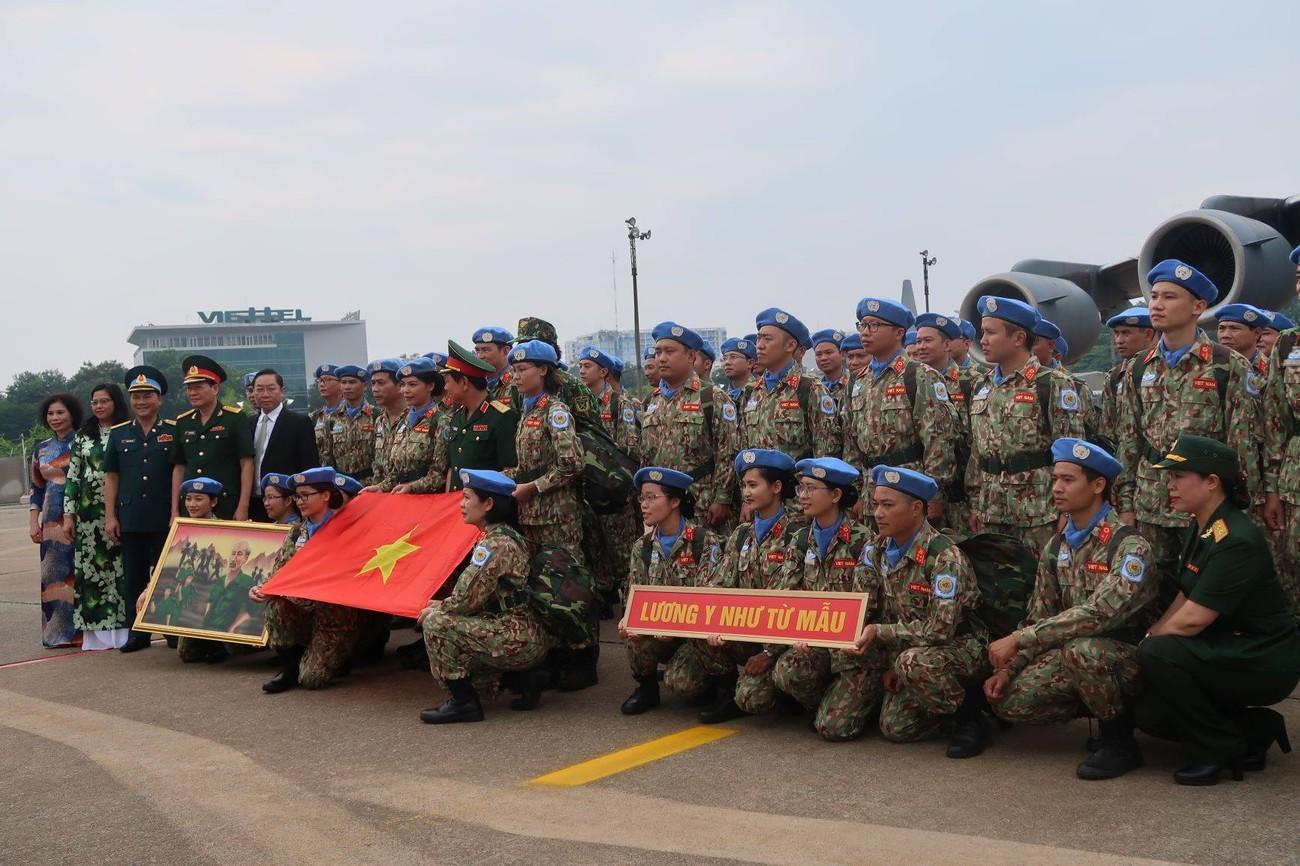 Lực lượng gìn giữ hòa bình Việt Nam xuất quân làm nhiệm vụ quốc tế ảnh 9