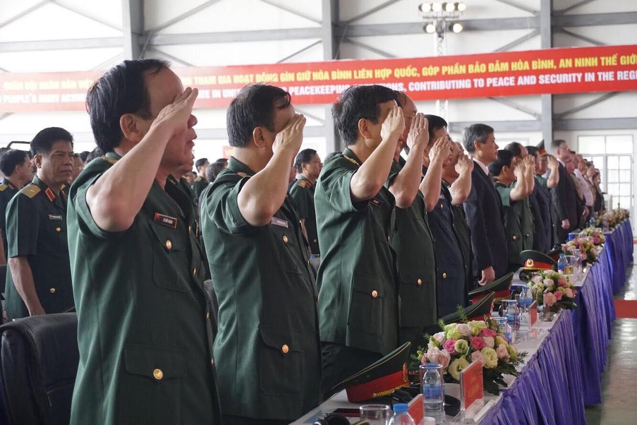 Lực lượng gìn giữ hòa bình Việt Nam xuất quân làm nhiệm vụ quốc tế ảnh 3