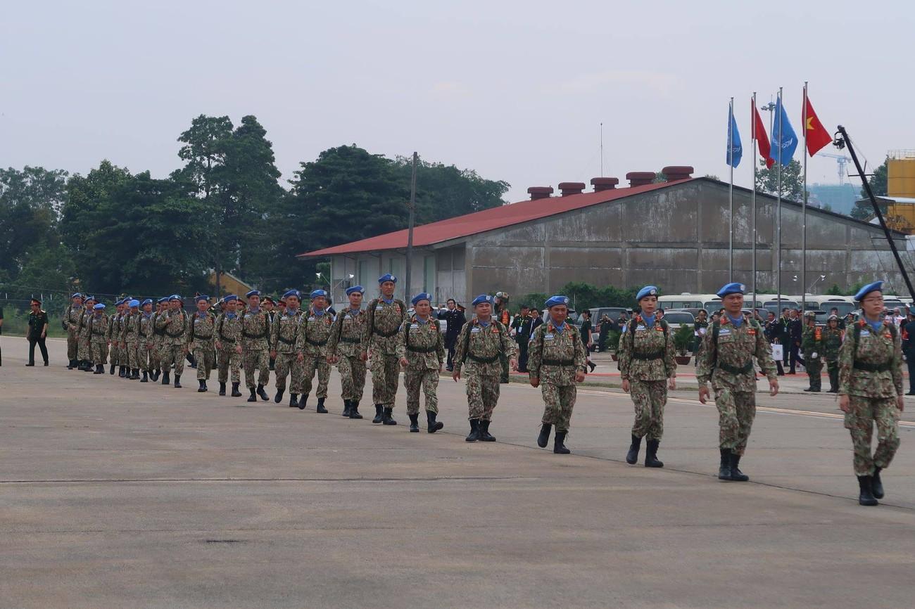 Lực lượng gìn giữ hòa bình Việt Nam xuất quân làm nhiệm vụ quốc tế ảnh 6