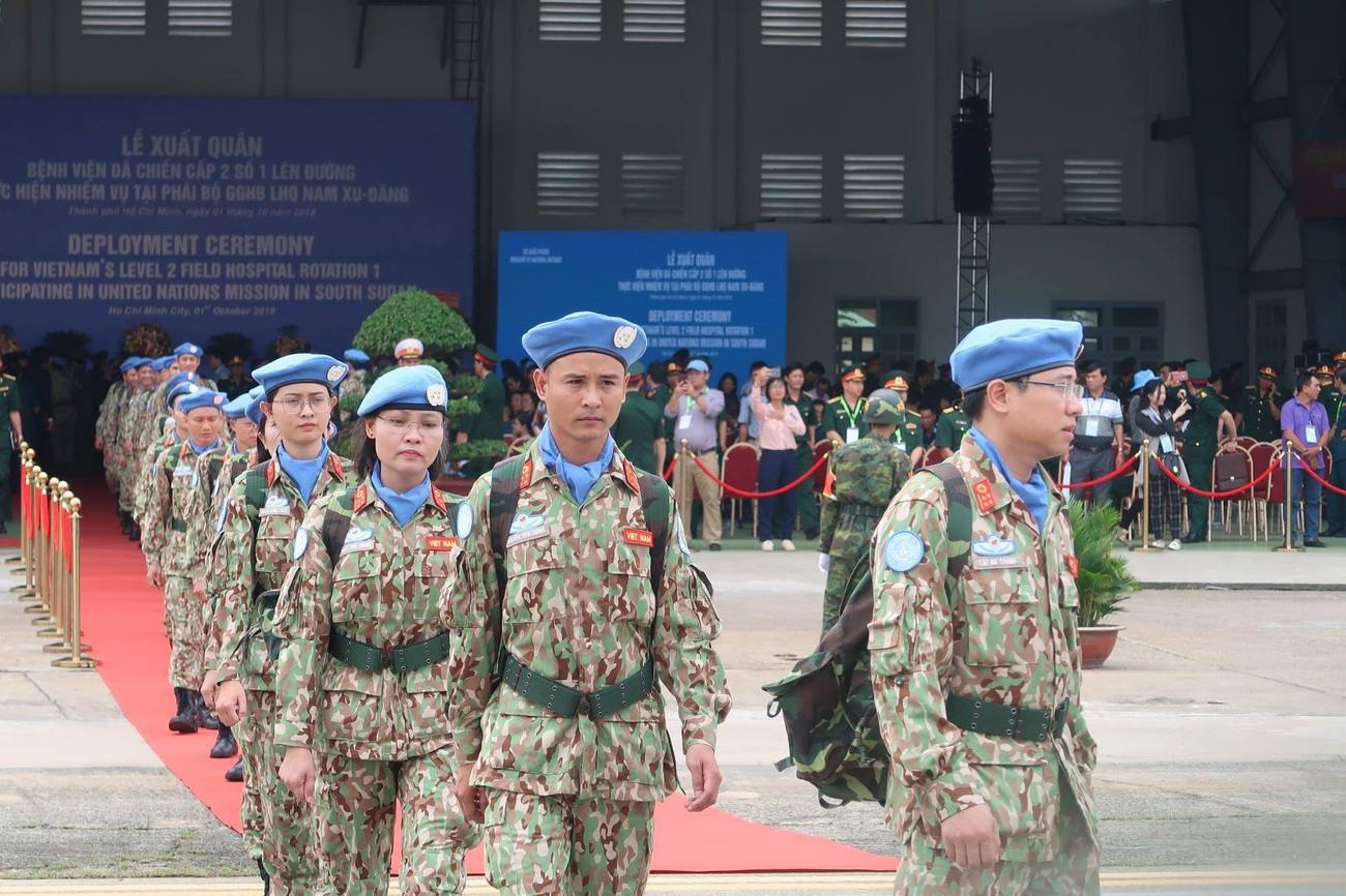 Lực lượng gìn giữ hòa bình Việt Nam xuất quân làm nhiệm vụ quốc tế ảnh 5