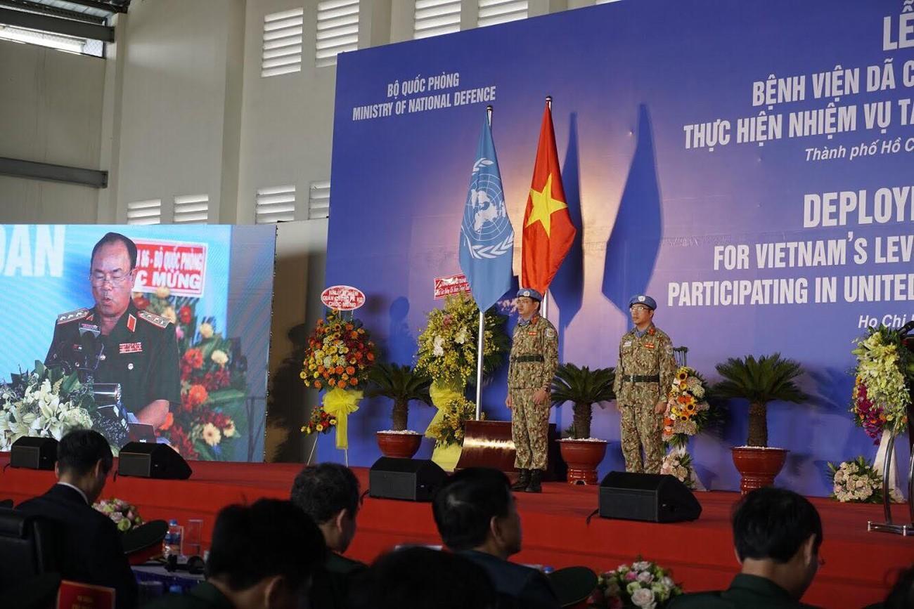 Lực lượng gìn giữ hòa bình Việt Nam xuất quân làm nhiệm vụ quốc tế ảnh 2
