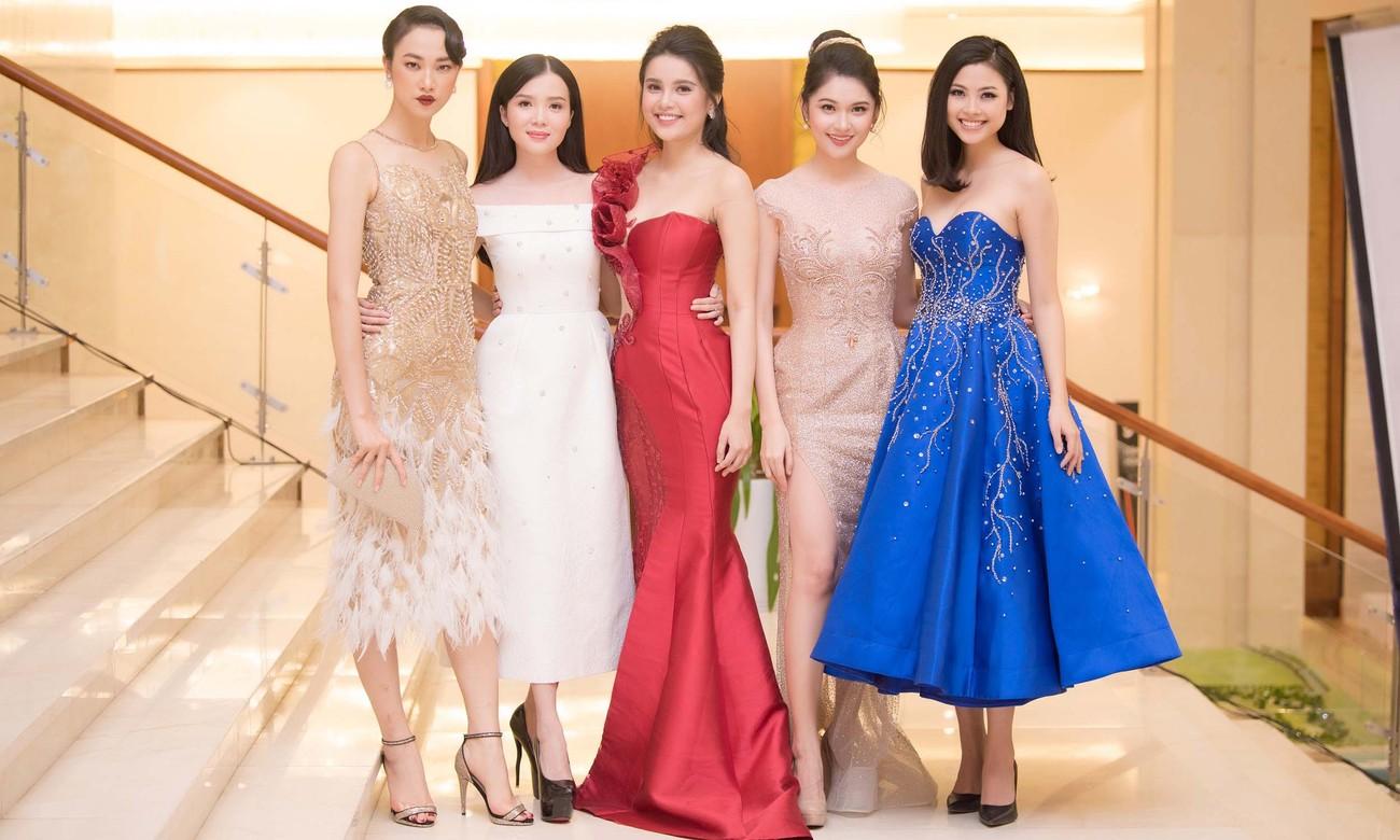 Dàn Hoa hậu, Á hậu lộng lẫy trên thảm đỏ Chung khảo HHVN phía Nam ảnh 8