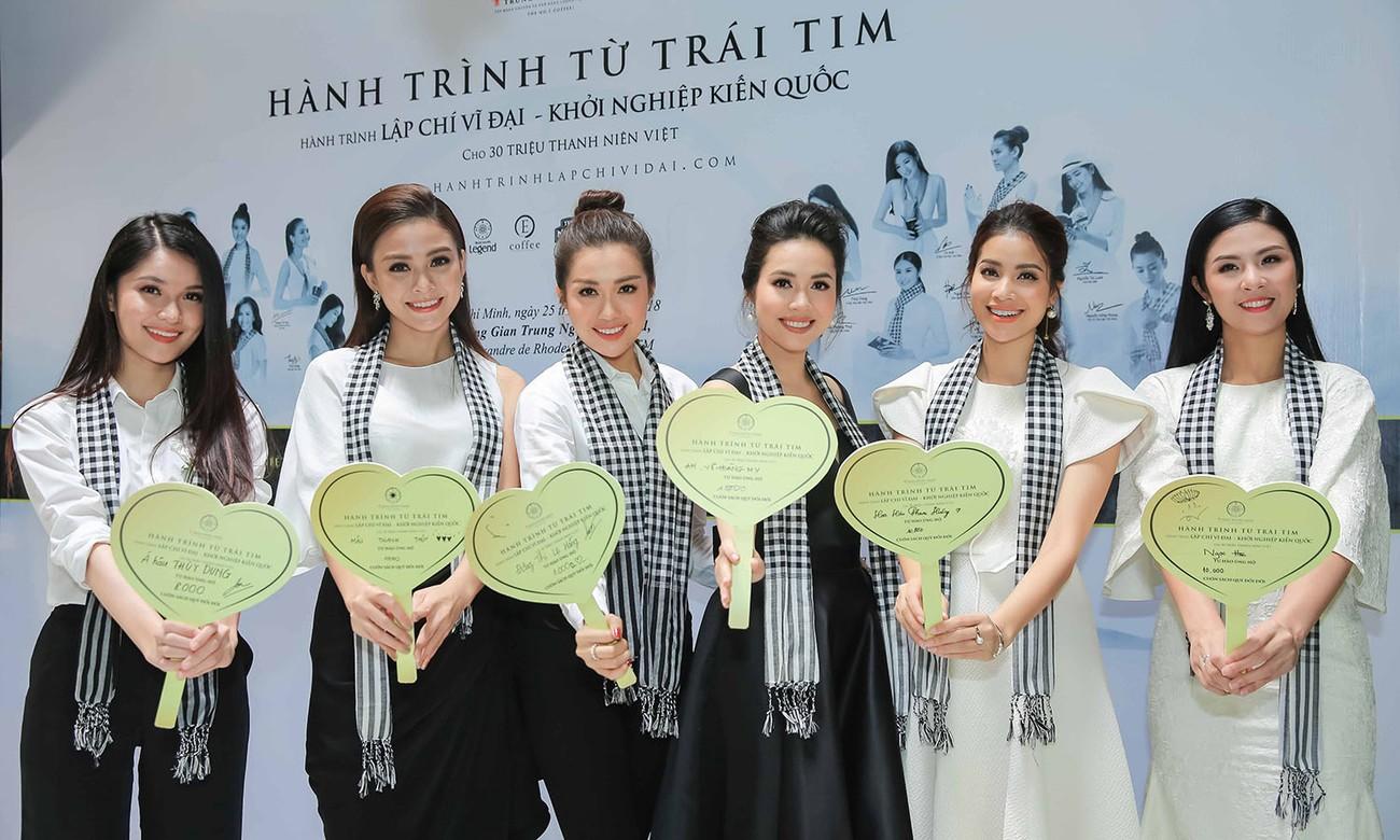 Á hậu Hoàng My bất ngờ tái xuất, hội ngộ dàn Hoa - Á hậu ở Sài Gòn ảnh 10