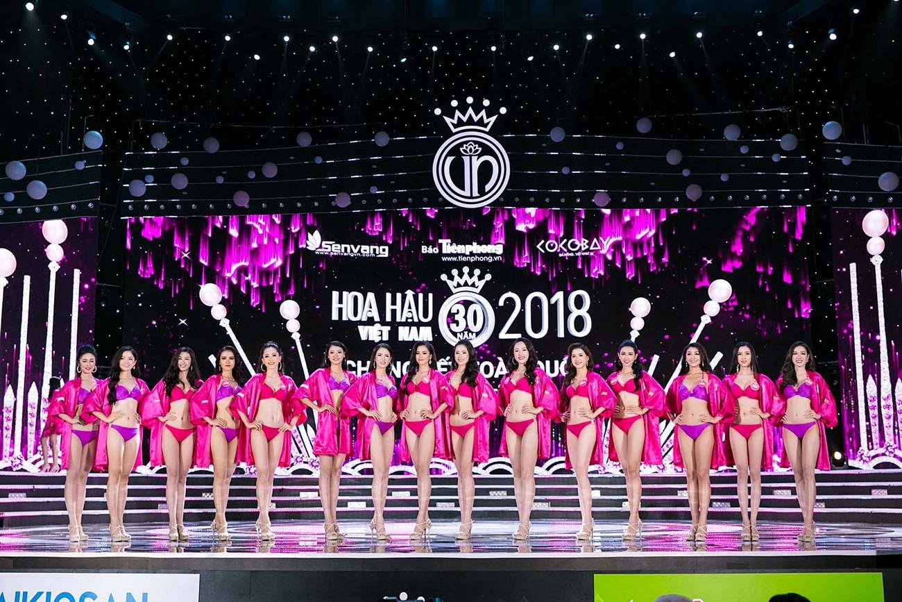 Top 25 khoe body nóng bỏng tại chung kết Hoa hậu Việt Nam 2018 ảnh 1