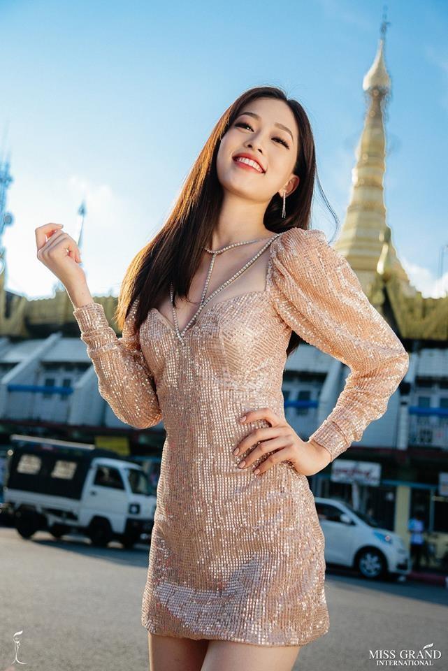 Ảnh chân dung của Á hậu Phương Nga tại Miss Grand 2018 nhận 'bão like' ảnh 1