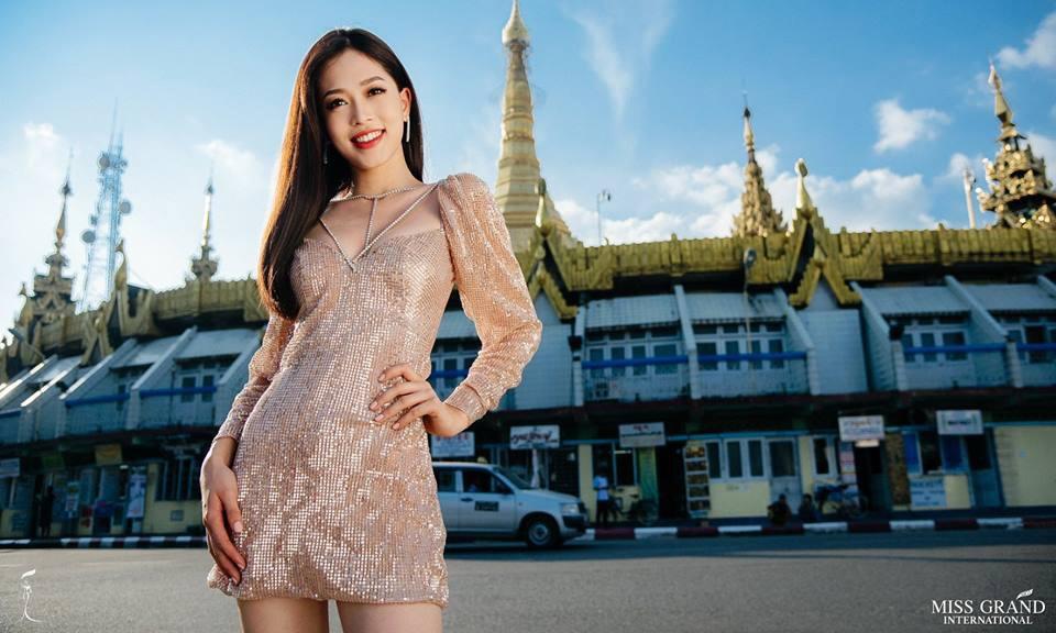 Ảnh chân dung của Á hậu Phương Nga tại Miss Grand 2018 nhận 'bão like' ảnh 2
