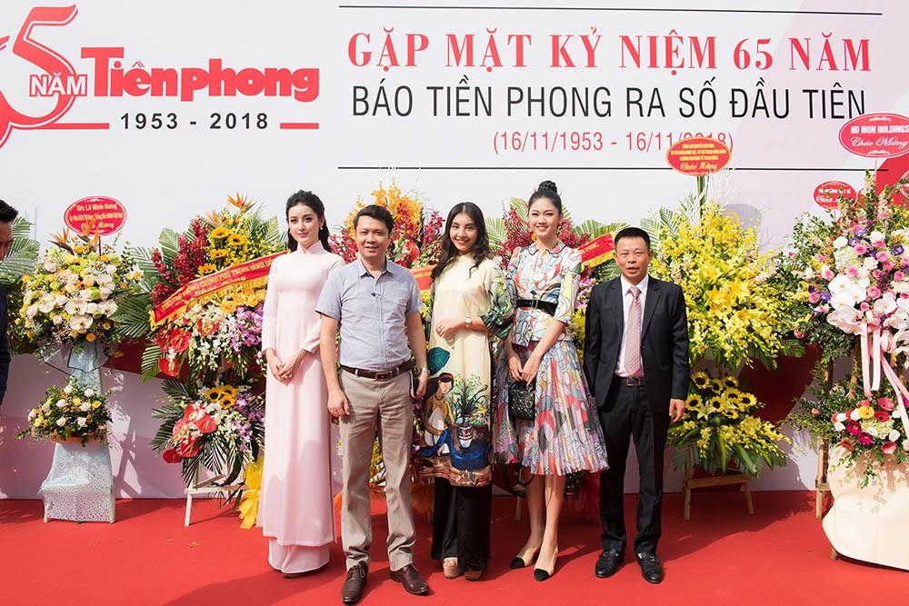 Dàn Á hậu lộng lẫy dự gặp mặt kỷ niệm 65 năm báo Tiền Phong ảnh 14