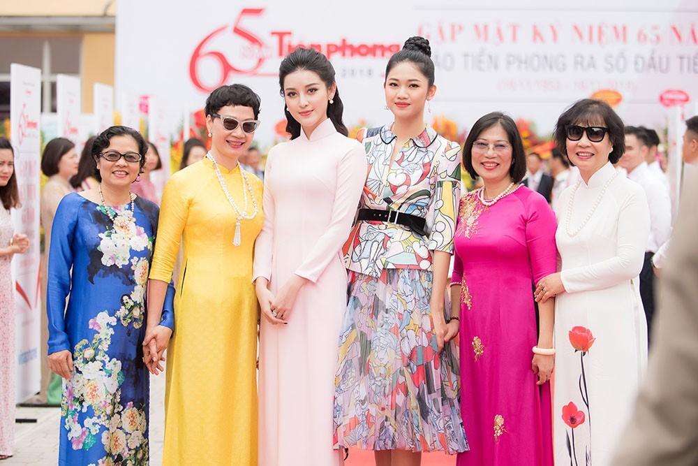 Dàn Á hậu lộng lẫy dự gặp mặt kỷ niệm 65 năm báo Tiền Phong ảnh 13