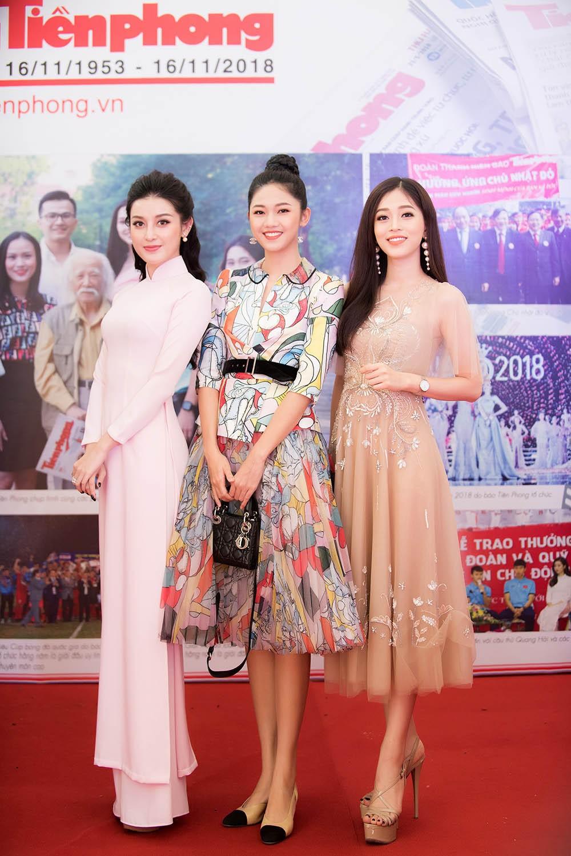 Dàn Á hậu lộng lẫy dự gặp mặt kỷ niệm 65 năm báo Tiền Phong ảnh 7