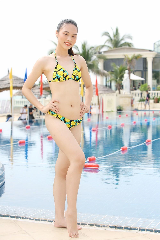 Thí sinh HHVN 2020 nóng bỏng với bikini trong phần thi bơi của 'Người đẹp Thể thao' ảnh 4