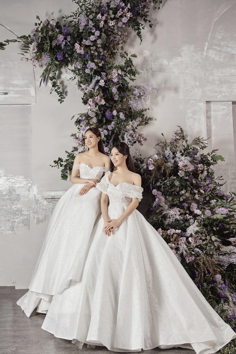 Vợ sắp cưới kém 15 tuổi của NSND Công Lý xinh đẹp lộng lẫy khi mặc váy cô dâu ảnh 10