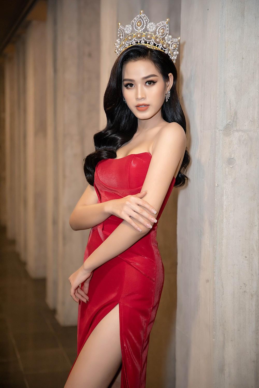 'Đụng' váy xẻ táo bạo với đàn chị Đỗ Mỹ Linh, Hoa hậu Đỗ Thị Hà thần thái rạng ngời ảnh 7