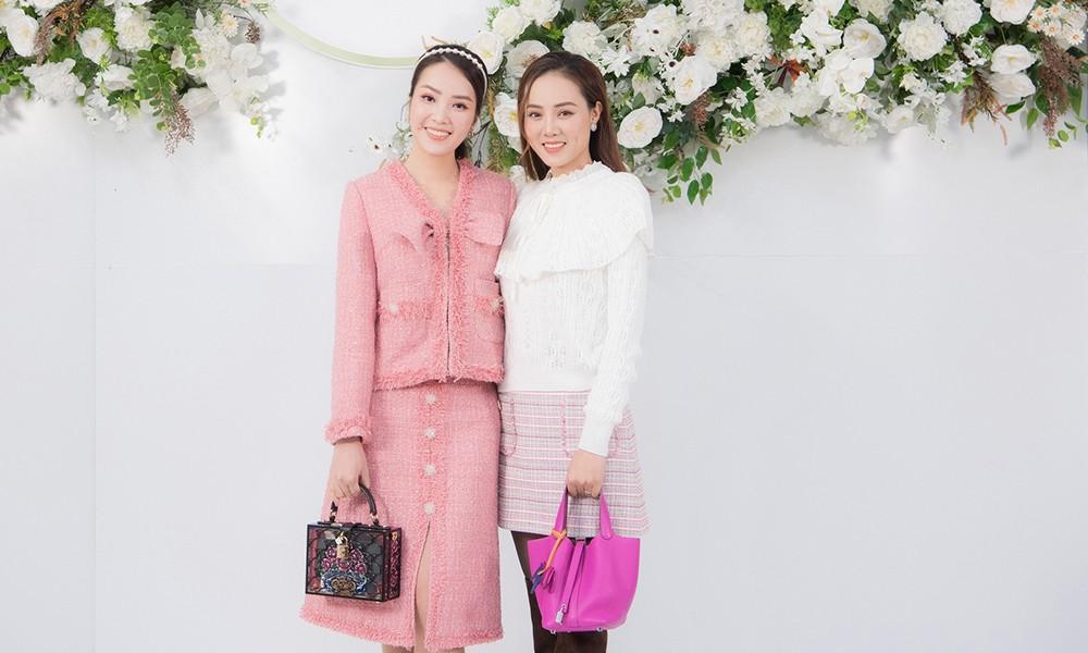 Á hậu Thụy Vân, vợ NSND Công Lý dự đám cưới của MC Thùy Linh và ông xã kém 5 tuổi ảnh 6