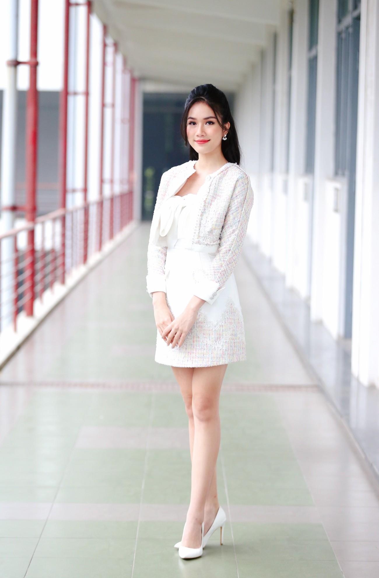 Hoa hậu Đỗ Thị Hà và Á hậu Phương Anh, Ngọc Thảo giản dị vẫn cực xinh đẹp ảnh 5