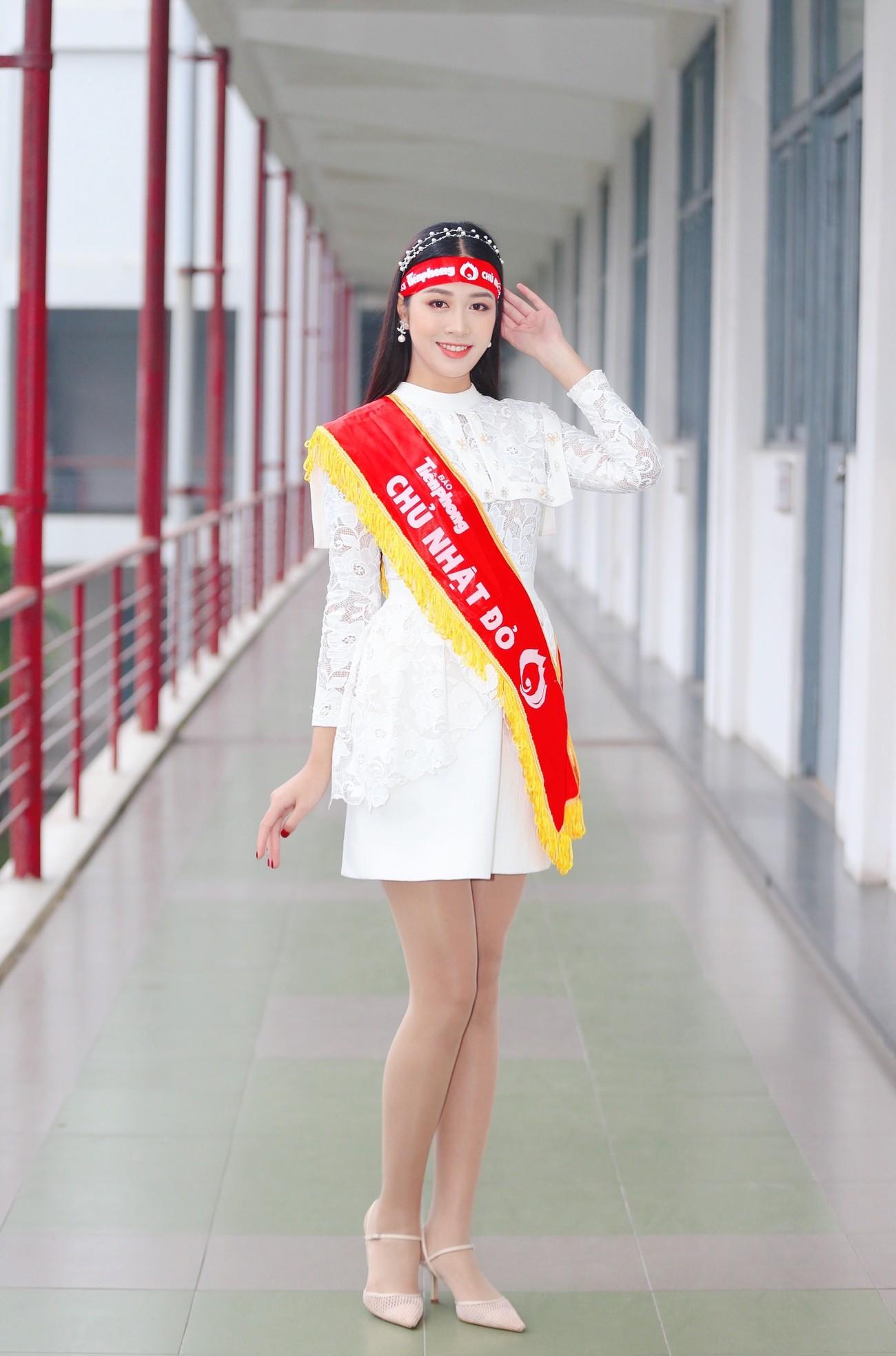 Hoa hậu Đỗ Thị Hà và Á hậu Phương Anh, Ngọc Thảo giản dị vẫn cực xinh đẹp ảnh 11