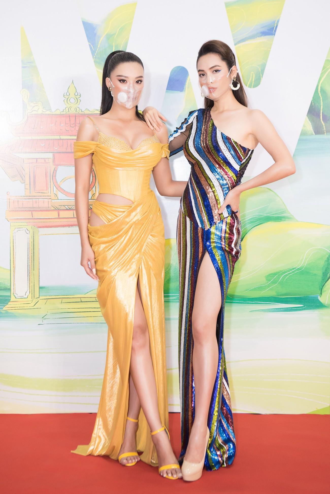 Khánh Vân, Võ Hoàng Yến, Hoàng My diện váy xẻ bạo khoe chân dài nóng bỏng ảnh 8