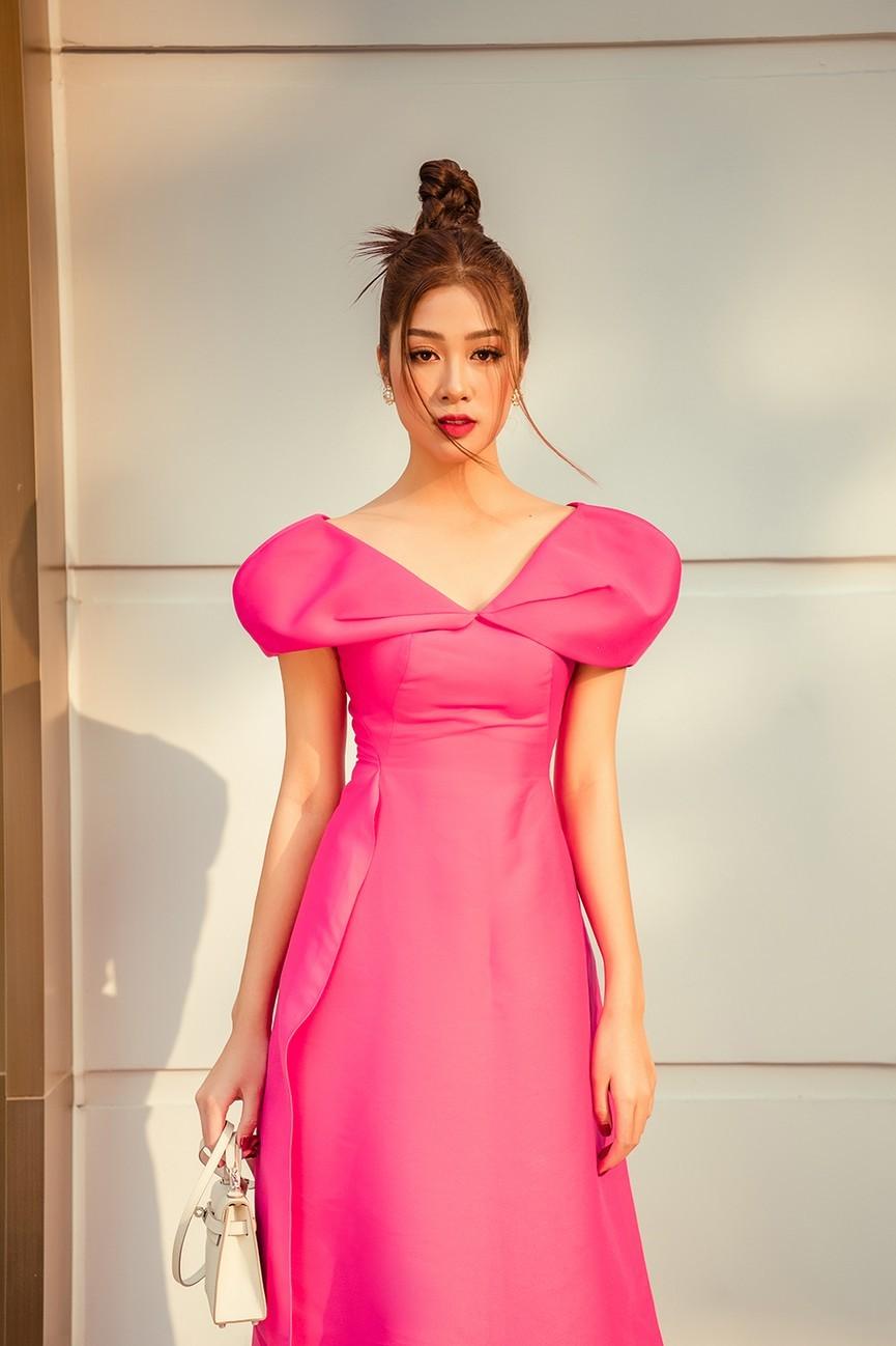 Dàn người đẹp của HHVN 2020 khoe nhan sắc đẹp hút hồn với áo dài Tết ảnh 12