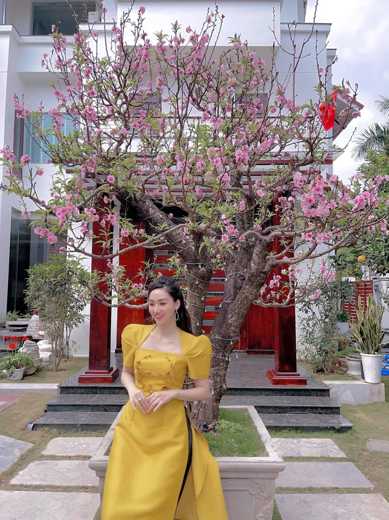 Hoa hậu Tiểu Vy khoe ảnh mẹ diện áo dài ngày mùng 1 Tết, fans trầm trồ vì nhan sắc trẻ đẹp ảnh 17