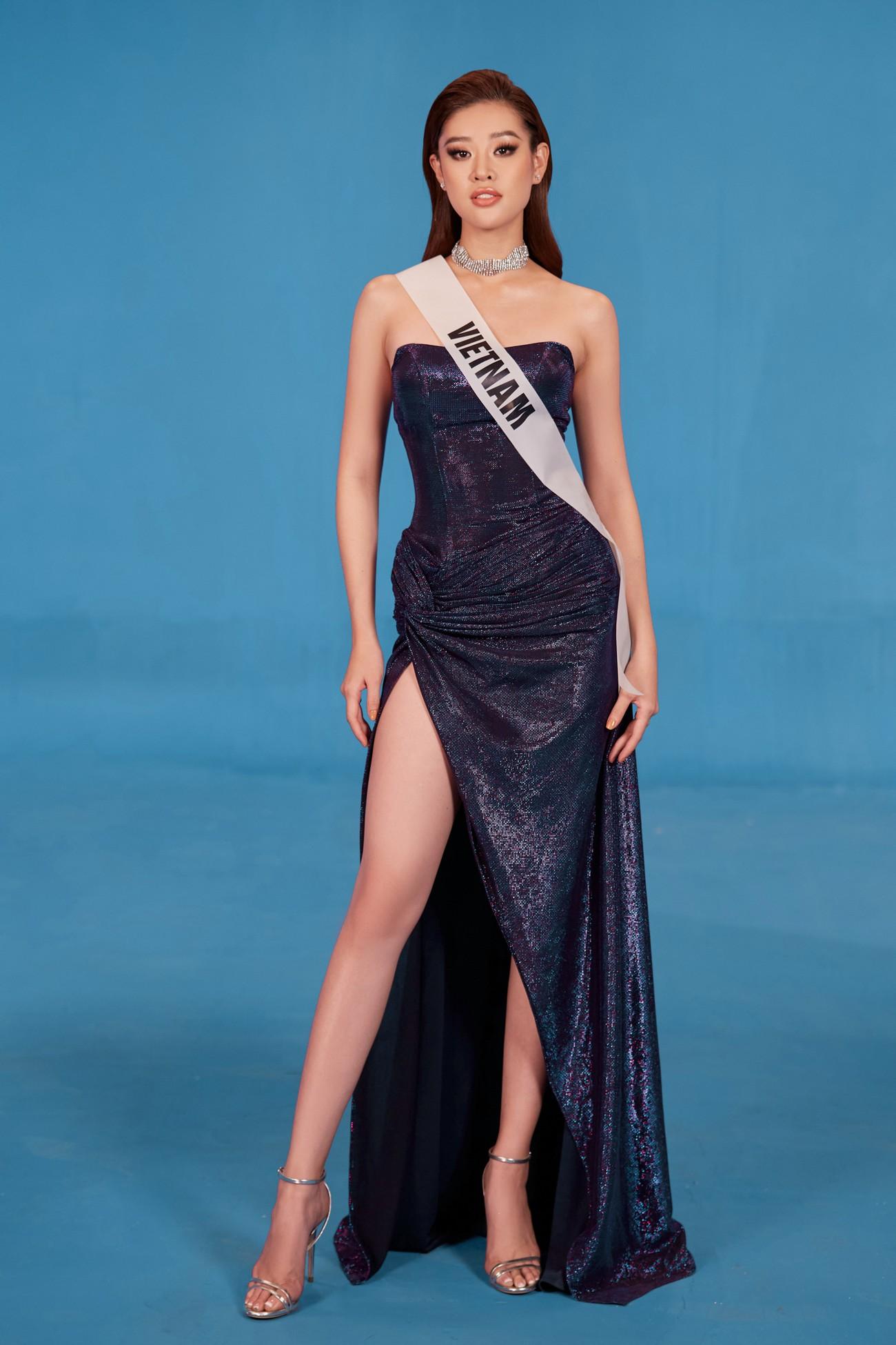 Khánh Vân 'chơi trội' với 5 lay-out nổi bật, quyết tâm 'gây bão' tại Miss Universe 2021 ảnh 11