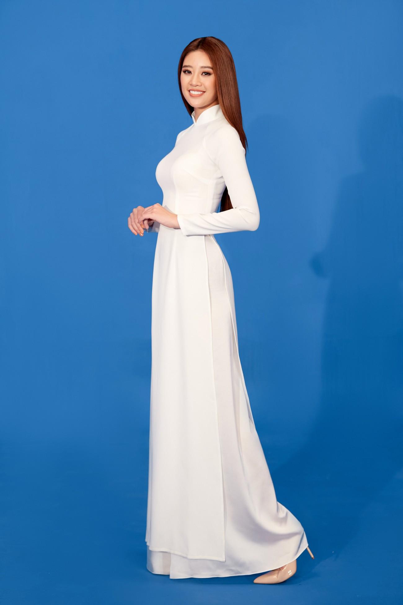 Khánh Vân 'chơi trội' với 5 lay-out nổi bật, quyết tâm 'gây bão' tại Miss Universe 2021 ảnh 5