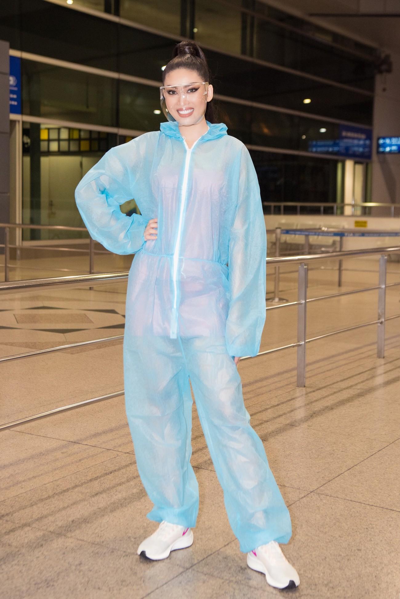 Mặc đồ bảo hộ bay sang Thái Lan thi Miss Grand, Á hậu Ngọc Thảo vẫn xinh đẹp rạng rỡ ảnh 13