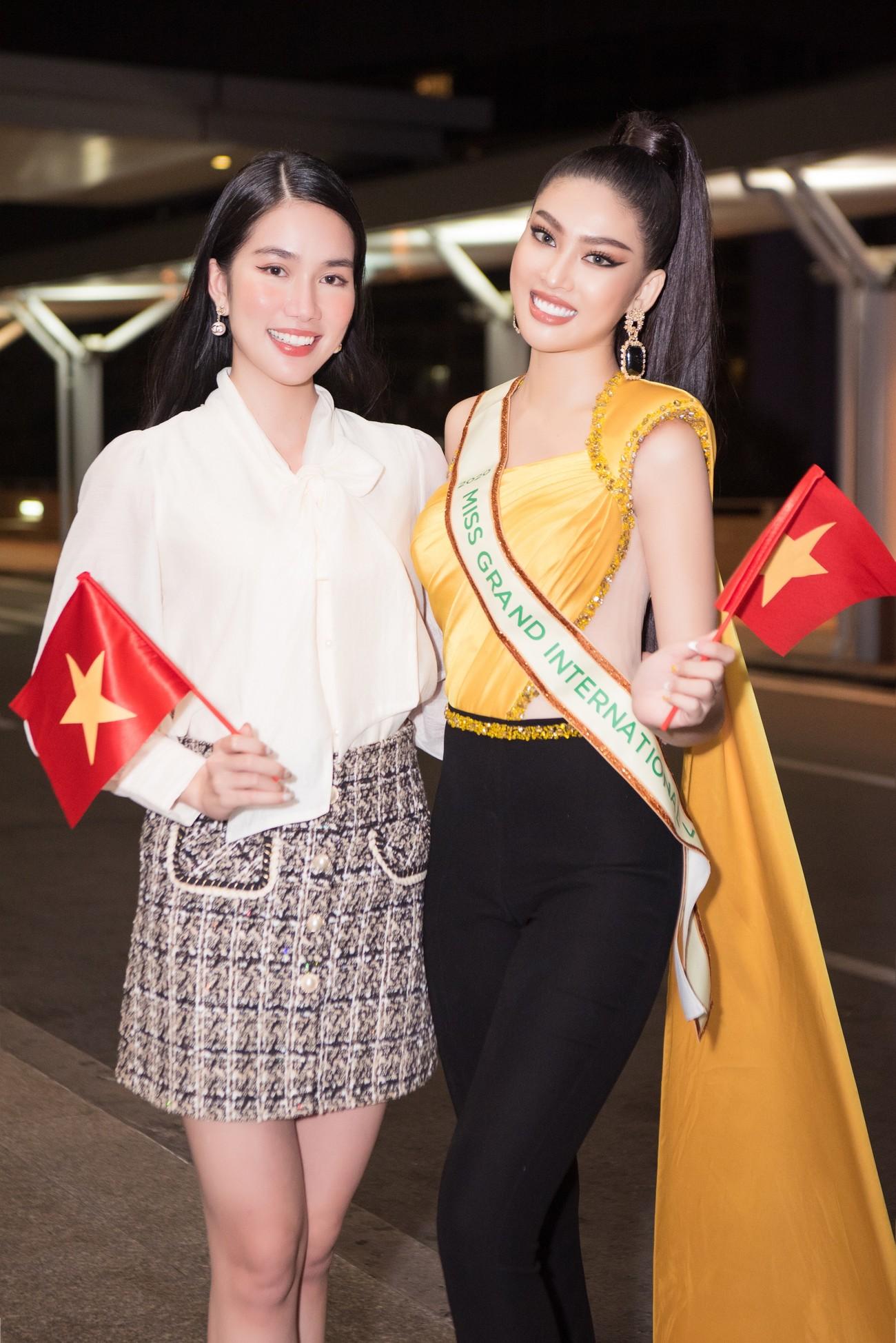 Mặc đồ bảo hộ bay sang Thái Lan thi Miss Grand, Á hậu Ngọc Thảo vẫn xinh đẹp rạng rỡ ảnh 9