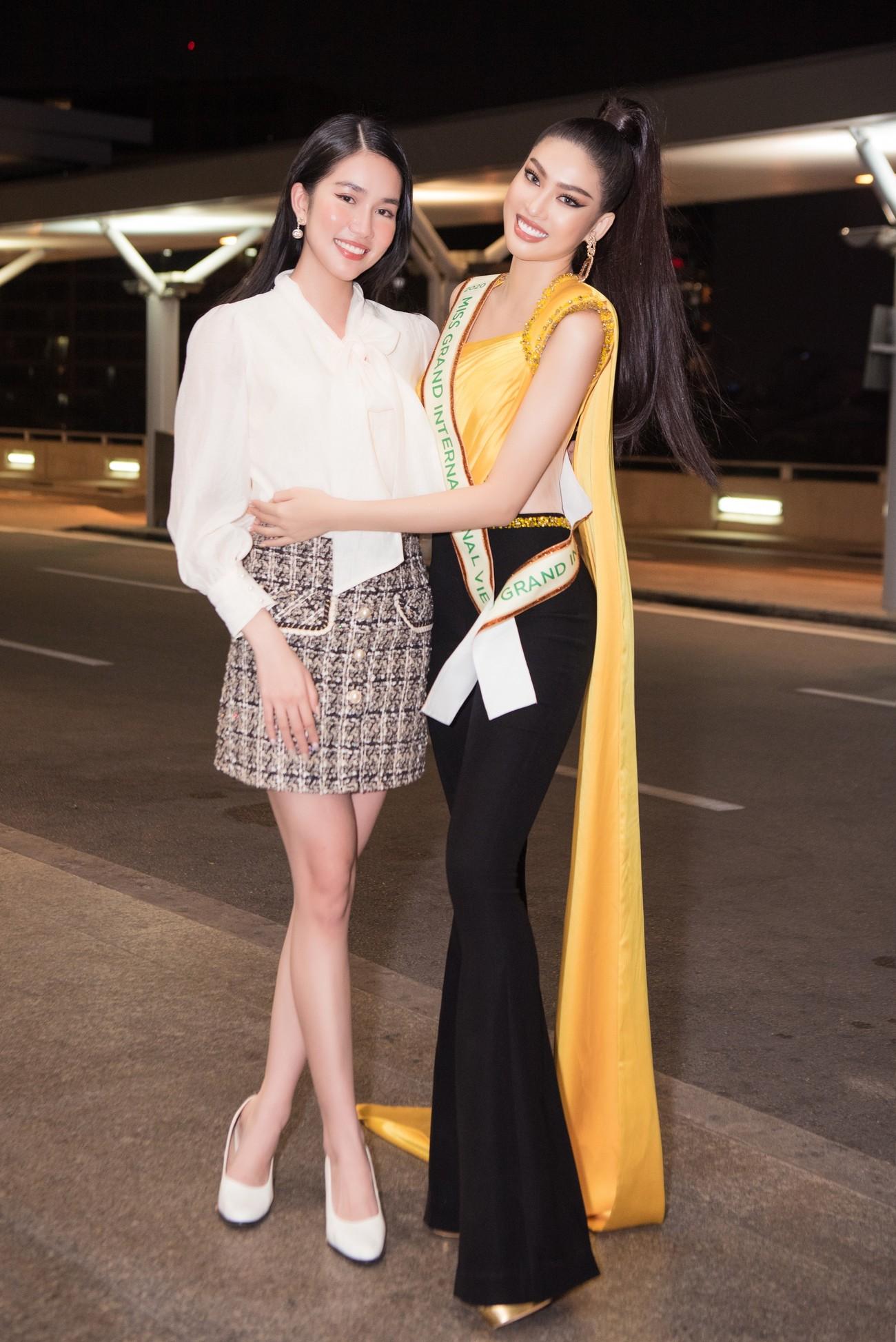 Mặc đồ bảo hộ bay sang Thái Lan thi Miss Grand, Á hậu Ngọc Thảo vẫn xinh đẹp rạng rỡ ảnh 10