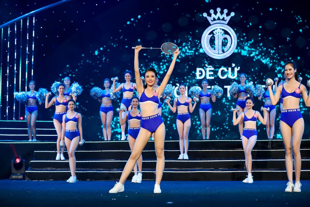 Dàn 'Người đẹp Thể thao' của Hoa hậu Việt Nam: Người là 'kình ngư', người giảm tới 32 kg ảnh 9
