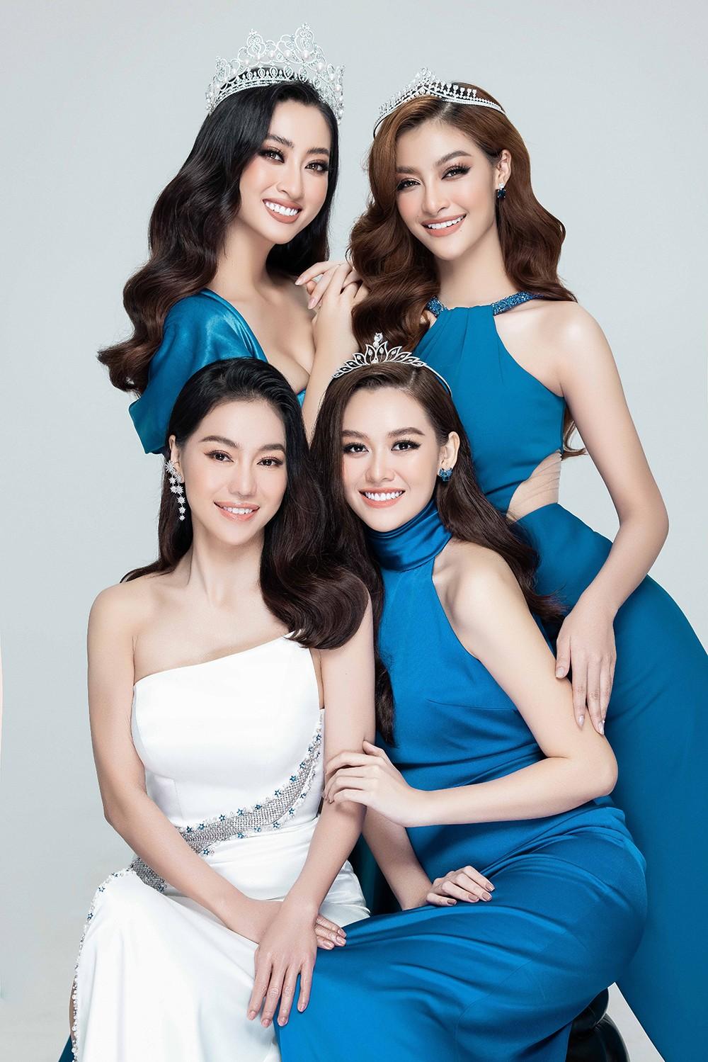 Lương Thùy Linh, Kiều Loan, Tường San khoe nhan sắc 'đỉnh cao' sau 2 năm đăng quang ảnh 13