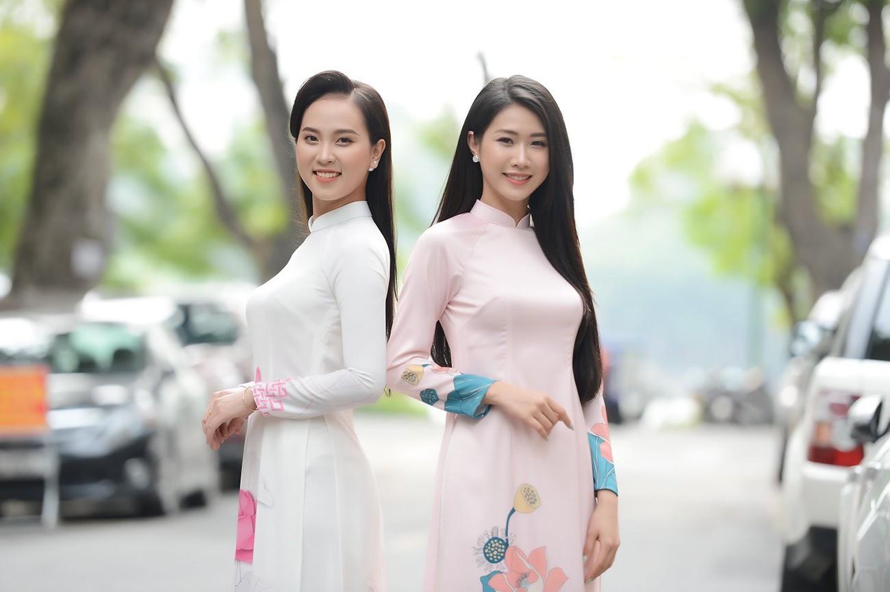 Dàn Hoa, Á hậu đọ sắc xinh đẹp tại họp báo Tiền Phong Marathon 2021 ảnh 5