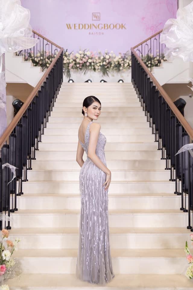 Á hậu Thuỳ Dung diện váy xẻ vòng 1 nóng bỏng, Ngọc Thảo bắt đầu 'bung lụa' tại Miss Grand ảnh 2