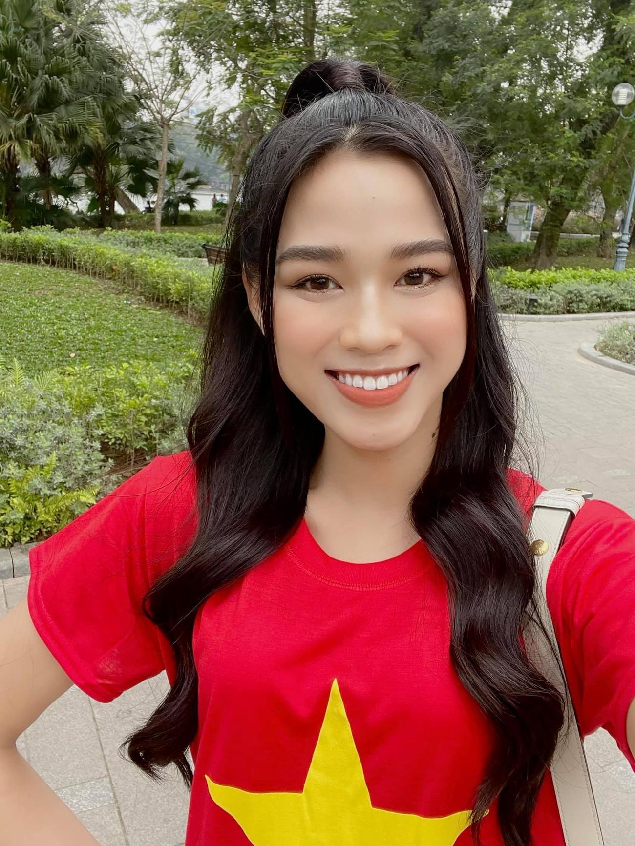 Á hậu Thuỳ Dung diện váy xẻ vòng 1 nóng bỏng, Ngọc Thảo bắt đầu 'bung lụa' tại Miss Grand ảnh 6