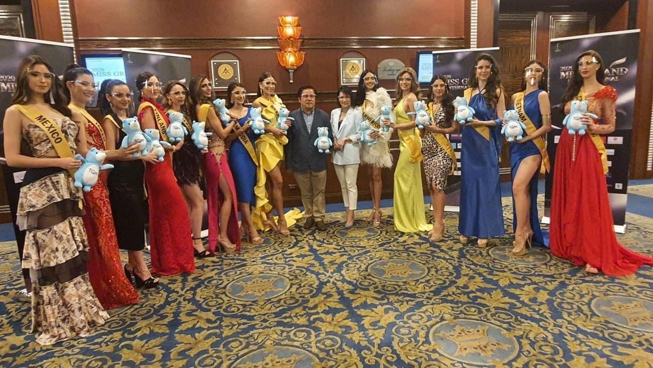 Á hậu Thuỳ Dung diện váy xẻ vòng 1 nóng bỏng, Ngọc Thảo bắt đầu 'bung lụa' tại Miss Grand ảnh 4