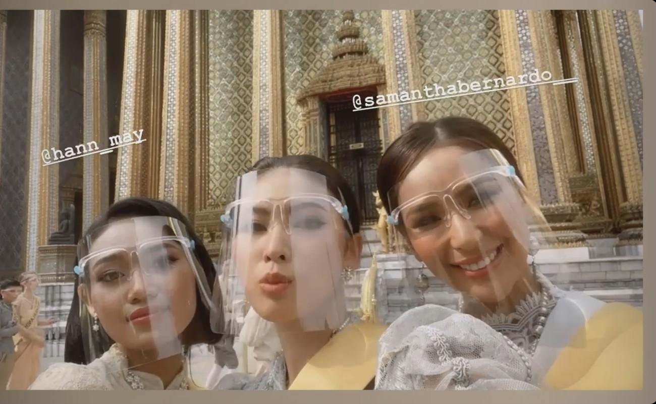 Ngày thứ 3 ở Miss Grand, Ngọc Thảo hoá gái Thái xinh đẹp đi vãn cảnh chùa Vàng ảnh 9