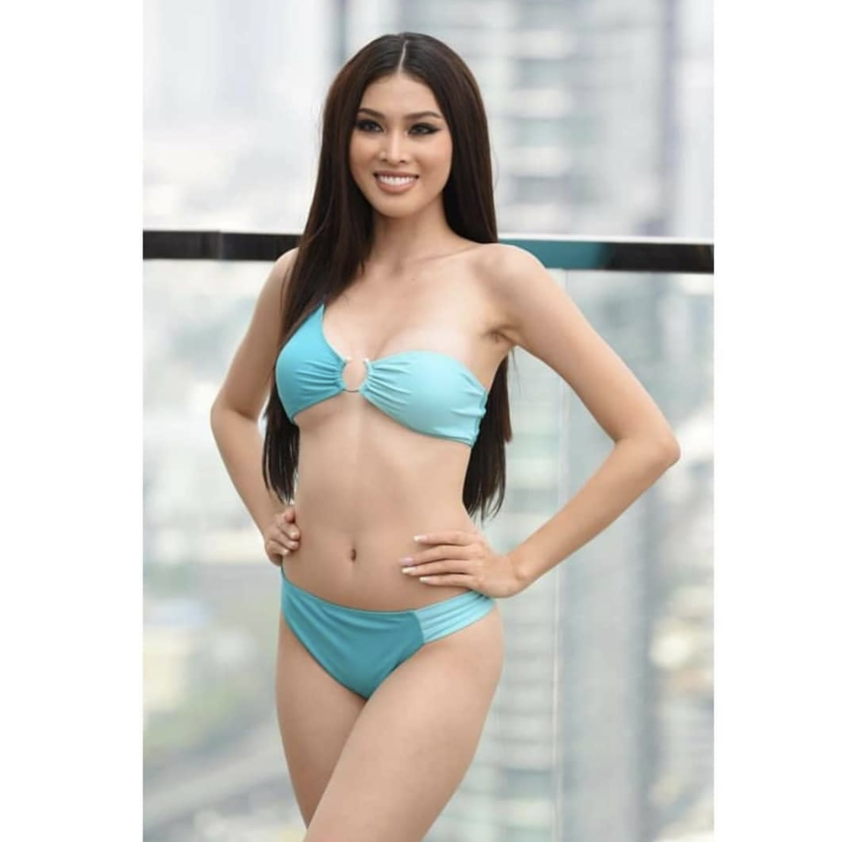 Ngắm body của á hậu Ngọc Thảo trong màn trình diễn áo tắm 'gây bão' ở Miss Grand ảnh 3