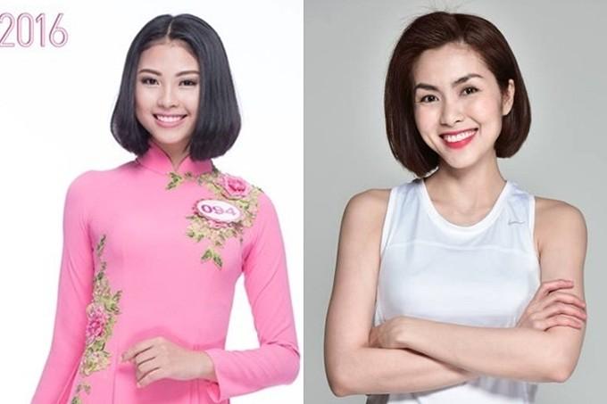 Nhan sắc những người đẹp Hoa hậu Việt Nam được ví là 'bản sao' của người nổi tiếng ảnh 18