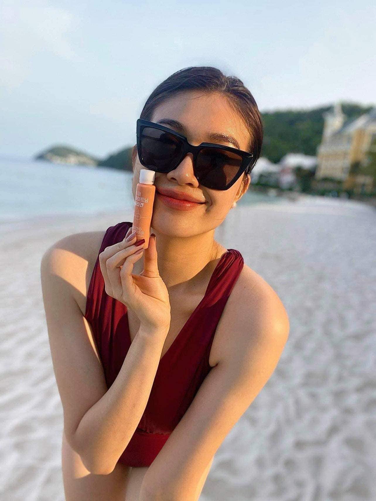 Hoa hậu Đỗ Thị Hà diện váy vàng gold cắt xẻ sexy, khoe loạt thần thái 'đỉnh cao' ảnh 13