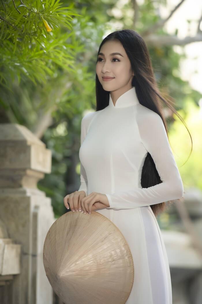'Nàng thơ xứ Quảng' Bùi Nữ Kiều Vỹ từng dự thi Hoa hậu Việt Nam 2016 giờ ra sao? ảnh 7