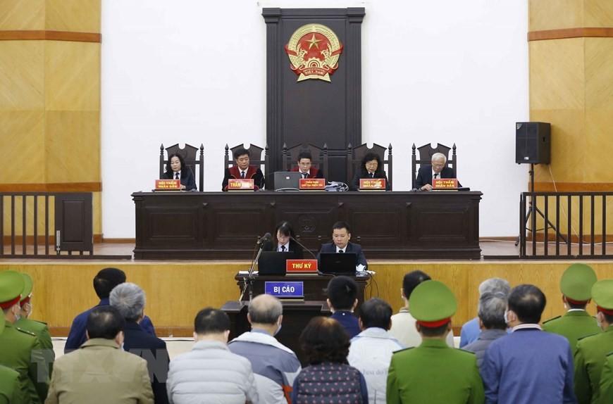 Cận cảnh phiên xét xử sơ thẩm vụ án Ethanol Phú Thọ ảnh 12