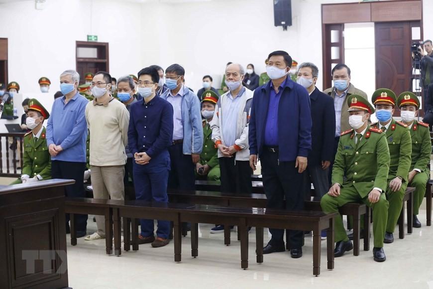Cận cảnh phiên xét xử sơ thẩm vụ án Ethanol Phú Thọ ảnh 14