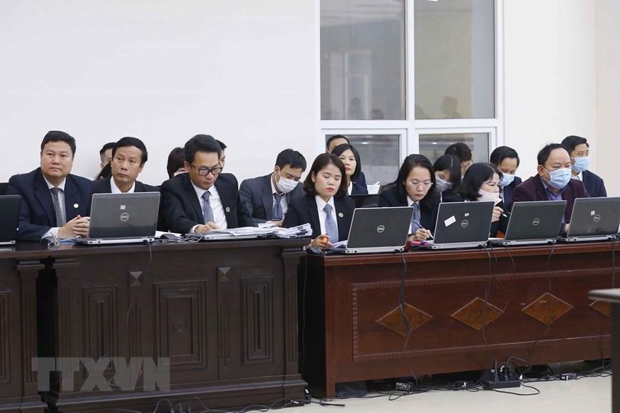 Cận cảnh phiên xét xử sơ thẩm vụ án Ethanol Phú Thọ ảnh 16