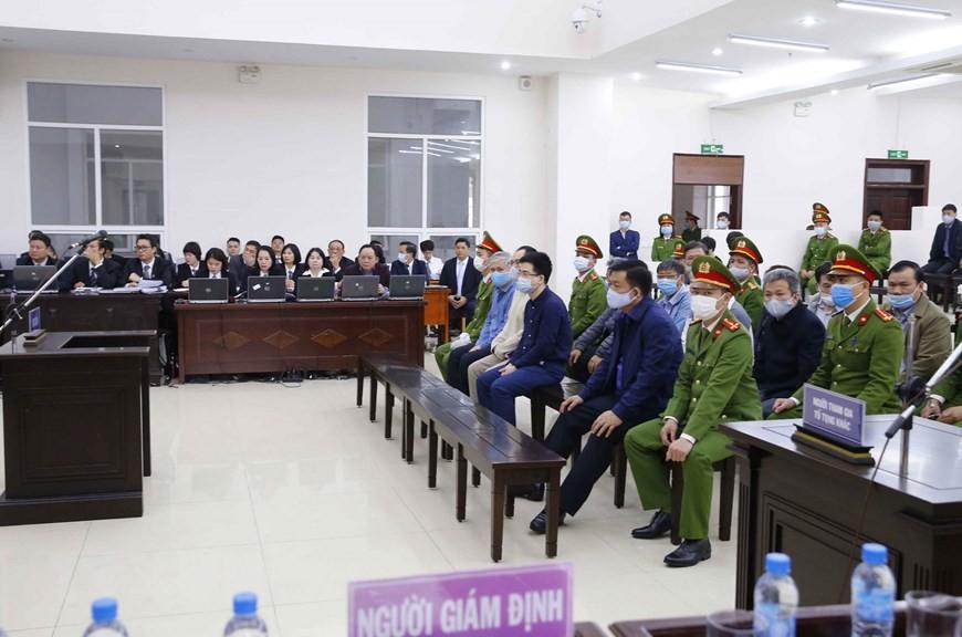 Cận cảnh phiên xét xử sơ thẩm vụ án Ethanol Phú Thọ ảnh 18