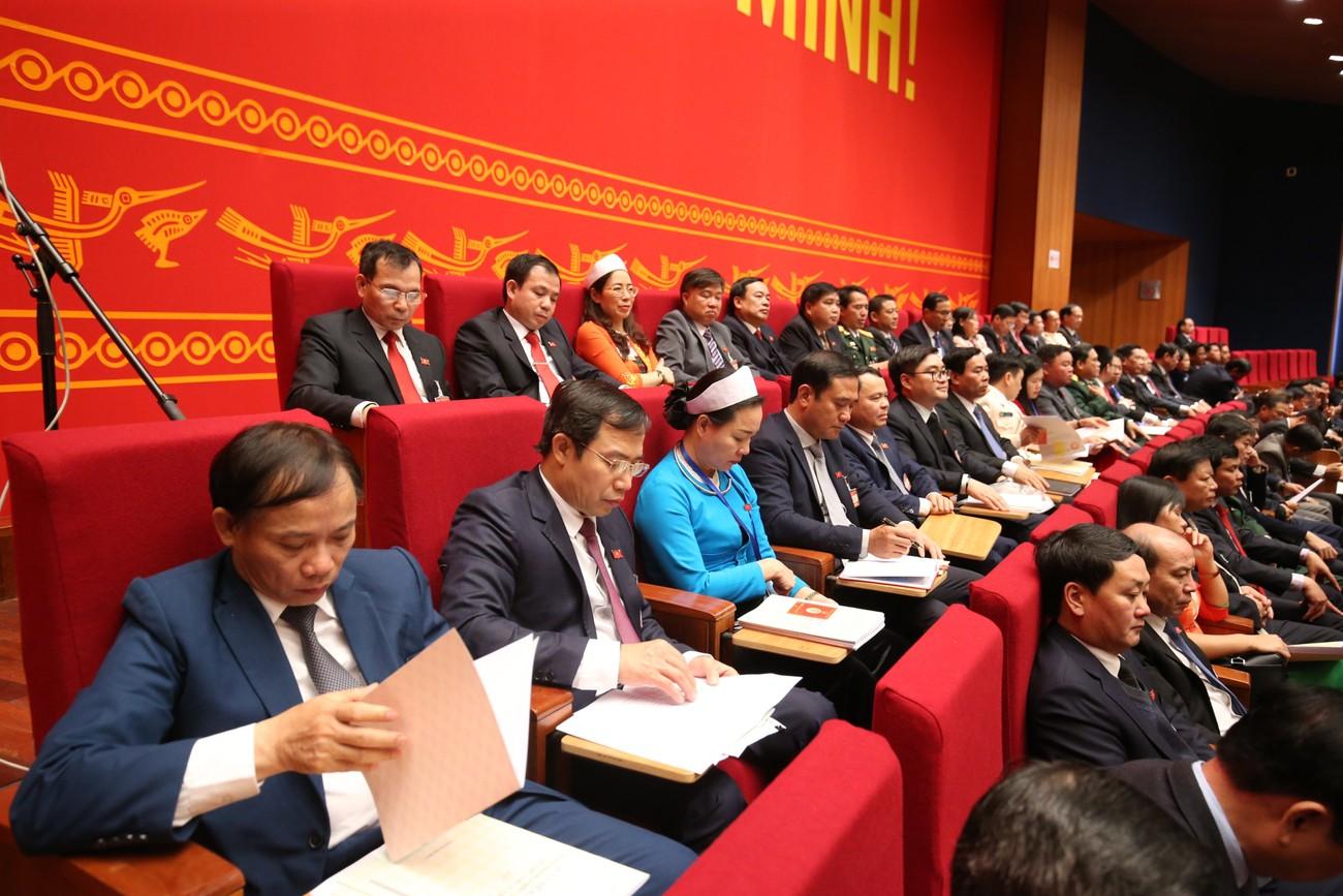Tổng Bí thư, Chủ tịch nước cùng các đại biểu trong phiên họp trù bị Đại hội XIII của Đảng ảnh 6