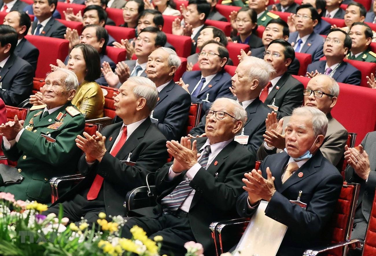 Toàn cảnh ngày làm việc thứ hai Đại hội XIII của Đảng ảnh 7